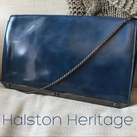463a39b5991 Halston Heritage Bags   Nwt Leather Shoulder Bag   Poshmark